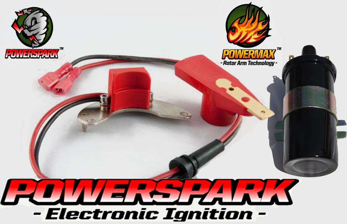 Rover Sd1 P5 P6 Pre 1976 V8 Electronic Ignition Kit Powerspark And P5b Fuse Box Coil Ebay