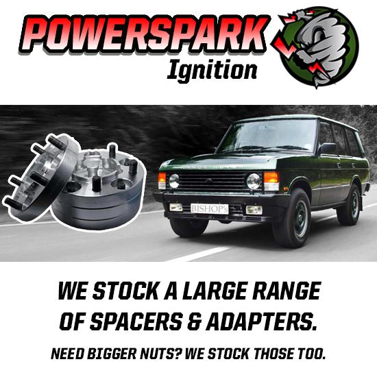 Land Rover Defender /& Descubrimiento 1 30mm Aluminio Rueda Separadores Bulldog Conjunto de 4